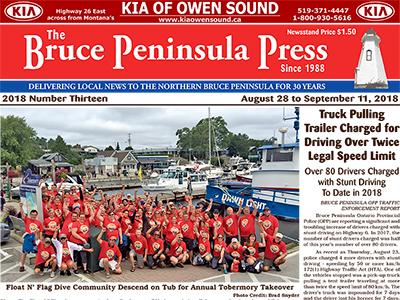 Bruce Peninsula Press Cover