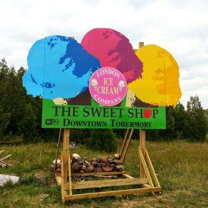 Sweetshop Billboard